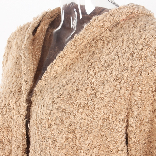 Fashion Women Fleece Hooded Cardigan Open Front Long Sleeve Solid Warm Hoodie Outerwear Loose Sweater CoatApparel &amp; Jewelry<br>Fashion Women Fleece Hooded Cardigan Open Front Long Sleeve Solid Warm Hoodie Outerwear Loose Sweater Coat<br>
