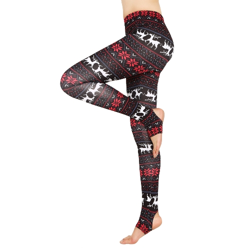 Women Leggings Christmas Print Skinny Trousers Casual Tights Stretch Slim High Waist Stirrup Leggings Fitness PantsApparel &amp; Jewelry<br>Women Leggings Christmas Print Skinny Trousers Casual Tights Stretch Slim High Waist Stirrup Leggings Fitness Pants<br>