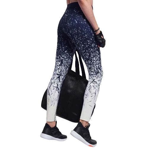 Women Fitness Yoga Pants Sports Leggings Printed Tights Workout Running Skinny Casual Trousers Blue/BlueApparel &amp; Jewelry<br>Women Fitness Yoga Pants Sports Leggings Printed Tights Workout Running Skinny Casual Trousers Blue/Blue<br>