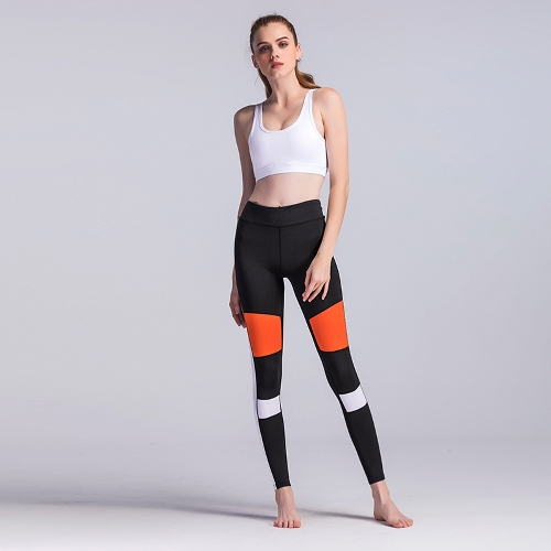 Women Fitness Yoga Pants Sports Leggings Color Block Tights Workout Running Skinny Casual Trousers BlackApparel &amp; Jewelry<br>Women Fitness Yoga Pants Sports Leggings Color Block Tights Workout Running Skinny Casual Trousers Black<br>