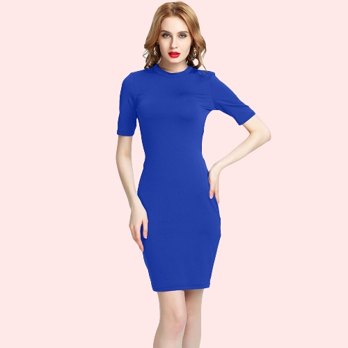 New Sexy Women Strappy Mini Dress Hollow Out Back O-Neck Short Sleeve Night Club Party DressApparel &amp; Jewelry<br>New Sexy Women Strappy Mini Dress Hollow Out Back O-Neck Short Sleeve Night Club Party Dress<br>