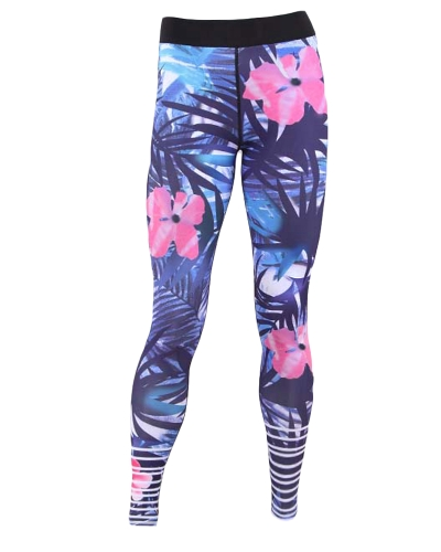 Sexy Women Floral Print Sports Leggings Yoga Pants Workout Running Skinny Slim Fitness Tights BlueApparel &amp; Jewelry<br>Sexy Women Floral Print Sports Leggings Yoga Pants Workout Running Skinny Slim Fitness Tights Blue<br>