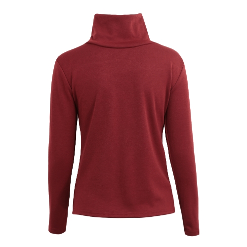 Autumn Winter Women Turtleneck Tops Long Sleeve T-Shirt Fleece lined Slim Casual Pullover Basic Tee ShirtsApparel &amp; Jewelry<br>Autumn Winter Women Turtleneck Tops Long Sleeve T-Shirt Fleece lined Slim Casual Pullover Basic Tee Shirts<br>
