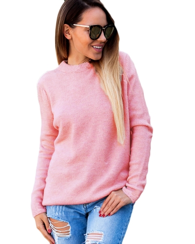Winter Sexy Women Halter Knitted Sweater V-Neck Long Sleeves Solid Color Knit Jumper Pullovers TopsApparel &amp; Jewelry<br>Winter Sexy Women Halter Knitted Sweater V-Neck Long Sleeves Solid Color Knit Jumper Pullovers Tops<br>