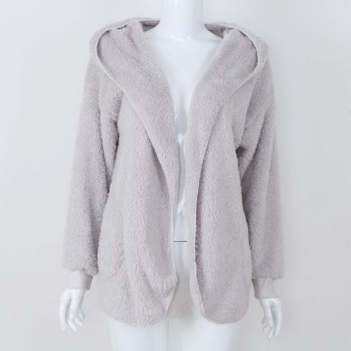 Fashion Women Hooded Cardigan Cashmere Open Front Long Sleeve Solid Warm Knitted Outerwear Sweater CoatApparel &amp; Jewelry<br>Fashion Women Hooded Cardigan Cashmere Open Front Long Sleeve Solid Warm Knitted Outerwear Sweater Coat<br>