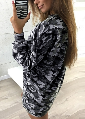 Women Camo Hoodie Sweatershirt Pullovers Long Sleeves Dropped Shoulder Camouflage Long Casual Tops OutwearApparel &amp; Jewelry<br>Women Camo Hoodie Sweatershirt Pullovers Long Sleeves Dropped Shoulder Camouflage Long Casual Tops Outwear<br>