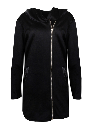 Women Casual Hoodie Long Sweatshirt Coat Pockets Zip Up Outerwear Hooded Jacket Black/Grey/RedApparel &amp; Jewelry<br>Women Casual Hoodie Long Sweatshirt Coat Pockets Zip Up Outerwear Hooded Jacket Black/Grey/Red<br>