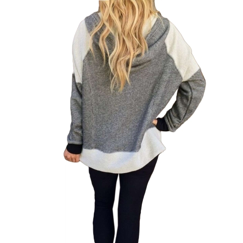 Women Hoodie Sweatshirt Tracksuit Coat Drawstring Pockets Zip Up Outerwear Casual Hooded Jacket GreyApparel &amp; Jewelry<br>Women Hoodie Sweatshirt Tracksuit Coat Drawstring Pockets Zip Up Outerwear Casual Hooded Jacket Grey<br>