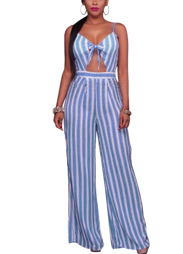 Women Jumpsuit Romper Spaghetti Strap Striped Lace Up Summer Overalls Backless Sexy PlaysuitApparel &amp; Jewelry<br>Women Jumpsuit Romper Spaghetti Strap Striped Lace Up Summer Overalls Backless Sexy Playsuit<br>