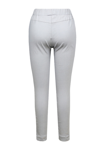 Women Pencil Pants Casual Elastic Waist Skinny Trousers Plus Size Solid Tights Stretch Leggings Slim PantsApparel &amp; Jewelry<br>Women Pencil Pants Casual Elastic Waist Skinny Trousers Plus Size Solid Tights Stretch Leggings Slim Pants<br>