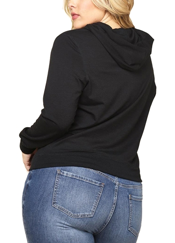 Women Plus Size Sweatshirt Solid Hooded Drawstring Pocket Long Sleeve Casual Oversized PulloverApparel &amp; Jewelry<br>Women Plus Size Sweatshirt Solid Hooded Drawstring Pocket Long Sleeve Casual Oversized Pullover<br>