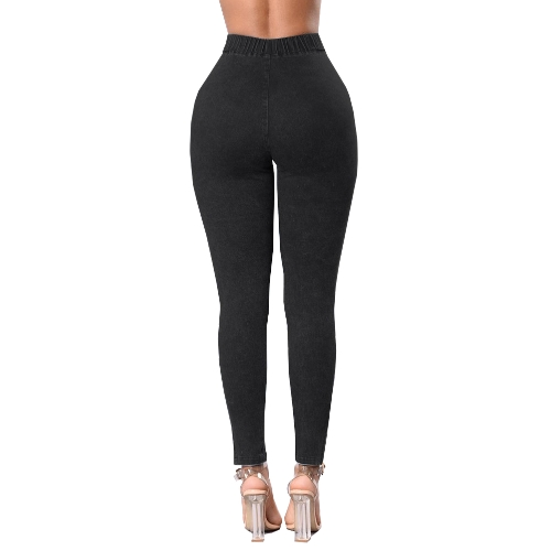 Women Skinny Jeans Denim High Waist Elastic Washed Ruched Skinny Pencil Trousers Tights LeggingsApparel &amp; Jewelry<br>Women Skinny Jeans Denim High Waist Elastic Washed Ruched Skinny Pencil Trousers Tights Leggings<br>