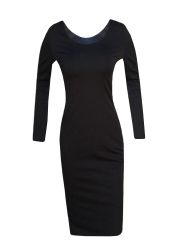 Autumn Winter Sexy Women Bodycon Dress Rivet Solid Long Sleeve Package Hip Mini Dress BlackApparel &amp; Jewelry<br>Autumn Winter Sexy Women Bodycon Dress Rivet Solid Long Sleeve Package Hip Mini Dress Black<br>