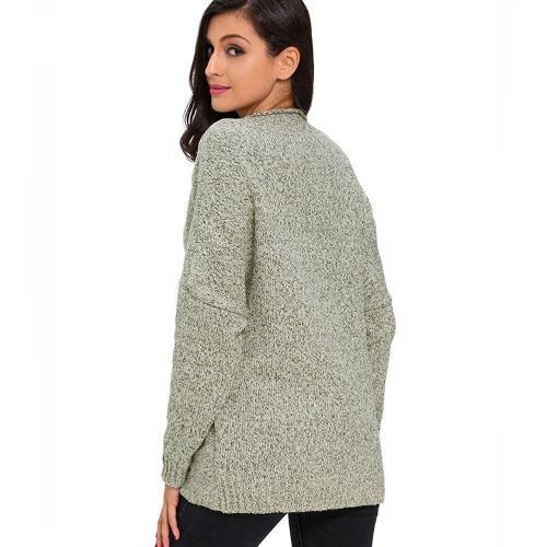 New Women Loose Knitted Sweater Cross Deep V-Neck Long Sleeve Solid Pullovers Top KnitwearApparel &amp; Jewelry<br>New Women Loose Knitted Sweater Cross Deep V-Neck Long Sleeve Solid Pullovers Top Knitwear<br>