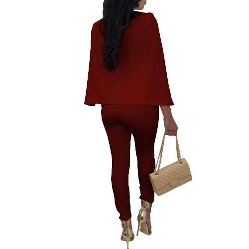 New Sexy Women V Neck Jumpsuit Buttons Cloak Cape Bodysuit Rompers Long Pants One Piece OverallsApparel &amp; Jewelry<br>New Sexy Women V Neck Jumpsuit Buttons Cloak Cape Bodysuit Rompers Long Pants One Piece Overalls<br>