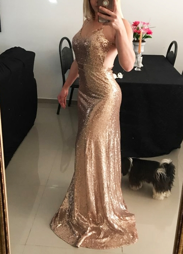 New Sexy Women Glitter Sequin Bodycon Maxi Dress V Neck Open Back Zipper Formal Party Sparkly Long DressApparel &amp; Jewelry<br>New Sexy Women Glitter Sequin Bodycon Maxi Dress V Neck Open Back Zipper Formal Party Sparkly Long Dress<br>
