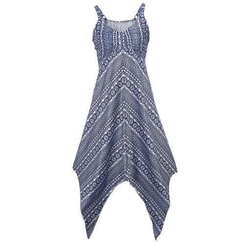 Women Printed Dress Sleeveless Asymmetrical Hem Ruched Front V-Neck High Waist A-Line Stretch Party DressApparel &amp; Jewelry<br>Women Printed Dress Sleeveless Asymmetrical Hem Ruched Front V-Neck High Waist A-Line Stretch Party Dress<br>