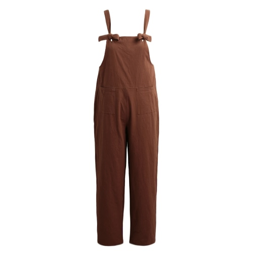 New Women Loose Jumpsuit Overalls Solid Sleeveless Pockets Wide Legs Casual Dungarees Playsuit RompersApparel &amp; Jewelry<br>New Women Loose Jumpsuit Overalls Solid Sleeveless Pockets Wide Legs Casual Dungarees Playsuit Rompers<br>