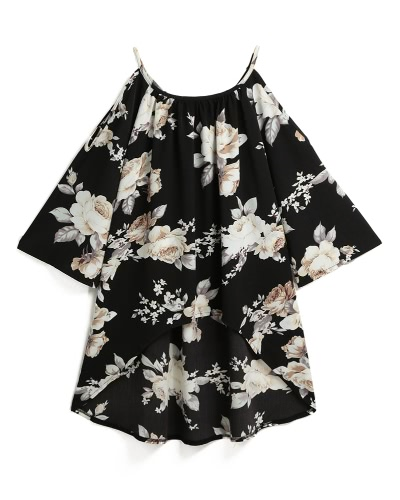 Women Off Shoulder Floral Print Blouses 3/4 Flare Sleeves Asymmetrical Casual Sexy Shirts Blusas TopApparel &amp; Jewelry<br>Women Off Shoulder Floral Print Blouses 3/4 Flare Sleeves Asymmetrical Casual Sexy Shirts Blusas Top<br>