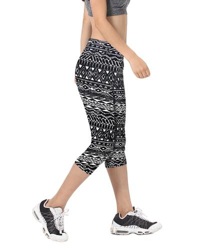 New Fashion Women Capri Leggings High Waist Printed Cropped Yoga Pants Fitness Workout Casual TrousersApparel &amp; Jewelry<br>New Fashion Women Capri Leggings High Waist Printed Cropped Yoga Pants Fitness Workout Casual Trousers<br>