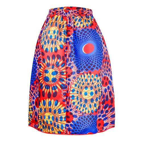 Sexy Women Pleated Skirt Vintage Floral Print High Waist A-Line Midi Skater SkirtApparel &amp; Jewelry<br>Sexy Women Pleated Skirt Vintage Floral Print High Waist A-Line Midi Skater Skirt<br>
