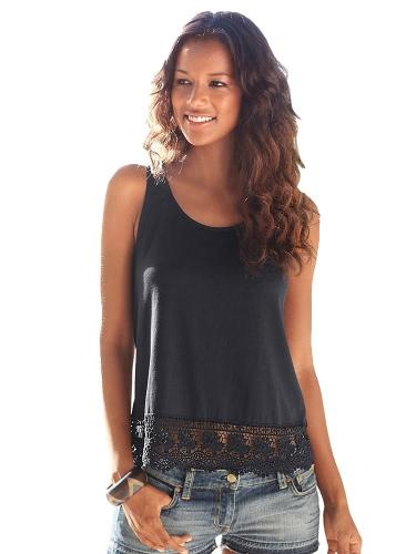 Fashion Women Summer Vest Crochet Lace SleevelessApparel &amp; Jewelry<br>Fashion Women Summer Vest Crochet Lace Sleeveless<br>