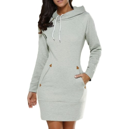 New Fashion Women Long Sweater Hooded Solid Long Sleeve Pockets Zipper Top Casual Warm HoodiesApparel &amp; Jewelry<br>New Fashion Women Long Sweater Hooded Solid Long Sleeve Pockets Zipper Top Casual Warm Hoodies<br>