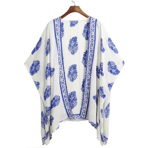 New Women Summer Kimono Cardigan Bikini Cover Up Floral Beach Robe Kaftan Boho Blouse Top BeachwearApparel &amp; Jewelry<br>New Women Summer Kimono Cardigan Bikini Cover Up Floral Beach Robe Kaftan Boho Blouse Top Beachwear<br>