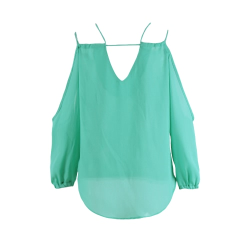 New Sexy Women Chiffon Blouse Shirt Strap V-Neck Backless Tank Top Sleeveless Vest TopApparel &amp; Jewelry<br>New Sexy Women Chiffon Blouse Shirt Strap V-Neck Backless Tank Top Sleeveless Vest Top<br>
