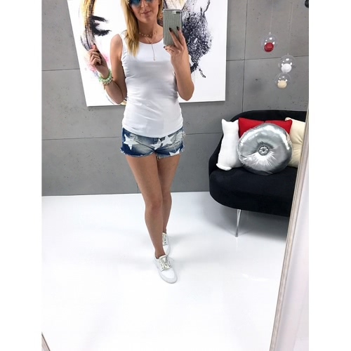 New Summer Women Tank Top Hollow Out Sleeveless O-Neck Slim T-Shirt Ladies Vest SingletsApparel &amp; Jewelry<br>New Summer Women Tank Top Hollow Out Sleeveless O-Neck Slim T-Shirt Ladies Vest Singlets<br>