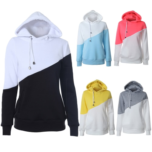 Fashion Women Hooded Sweatshirts Crochet Long Sleeve Pockets Casual Hoodie PulloverApparel &amp; Jewelry<br>Fashion Women Hooded Sweatshirts Crochet Long Sleeve Pockets Casual Hoodie Pullover<br>