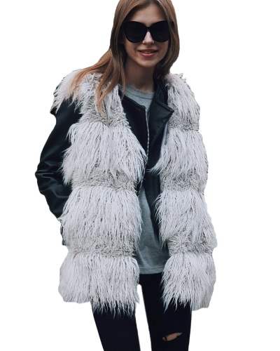 Fluffy Faux Fur Vest Waistcoat Autumn Winter Sleeveless Outerwear Women Coat Soft Hairy OvercoatApparel &amp; Jewelry<br>Fluffy Faux Fur Vest Waistcoat Autumn Winter Sleeveless Outerwear Women Coat Soft Hairy Overcoat<br>