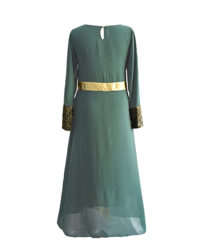 Muslim Women Long Sleeve Dress Maxi Abaya Islamic Casual Robe Kaftan Turkish Muslim Dress Grey/Green/BlackApparel &amp; Jewelry<br>Muslim Women Long Sleeve Dress Maxi Abaya Islamic Casual Robe Kaftan Turkish Muslim Dress Grey/Green/Black<br>