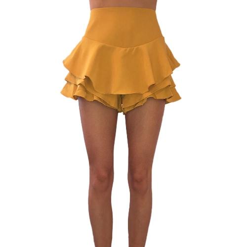New Fashion Women Mini Pleated Layer Skirt Micro Sleepwear A-Line High Waist Vintage Party Swing SkirtApparel &amp; Jewelry<br>New Fashion Women Mini Pleated Layer Skirt Micro Sleepwear A-Line High Waist Vintage Party Swing Skirt<br>