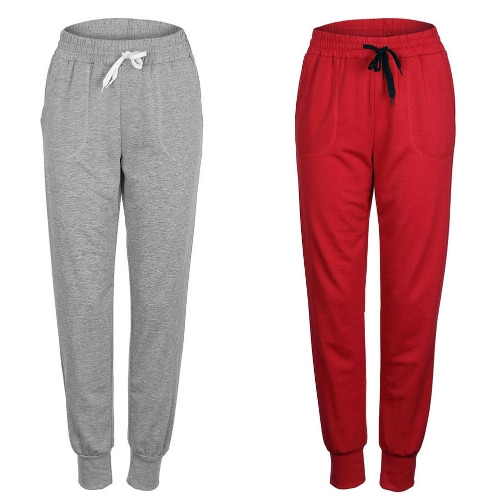 Women Sport Yoga Trousers Elastic Waist Drawstring Pockets Outdoor Running Casual Sportswear Top PantsApparel &amp; Jewelry<br>Women Sport Yoga Trousers Elastic Waist Drawstring Pockets Outdoor Running Casual Sportswear Top Pants<br>