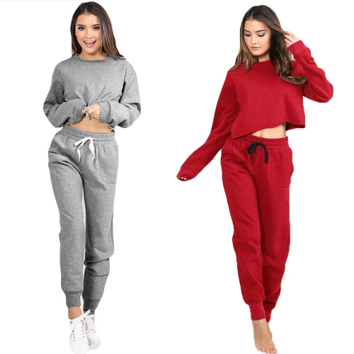 Women Sport Yoga Crop Top Blouse O-Neck Long Sleeves Casual Sportswear Pullover Top T-ShirtApparel &amp; Jewelry<br>Women Sport Yoga Crop Top Blouse O-Neck Long Sleeves Casual Sportswear Pullover Top T-Shirt<br>
