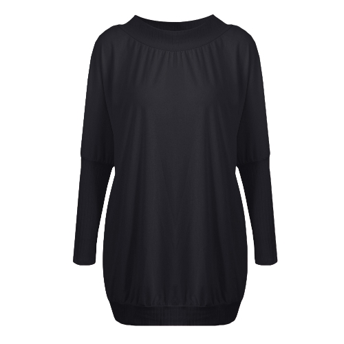 Fashion Women T-Shirt Dress Batwing Sleeve Casual Loose Long Tee Mini DressApparel &amp; Jewelry<br>Fashion Women T-Shirt Dress Batwing Sleeve Casual Loose Long Tee Mini Dress<br>