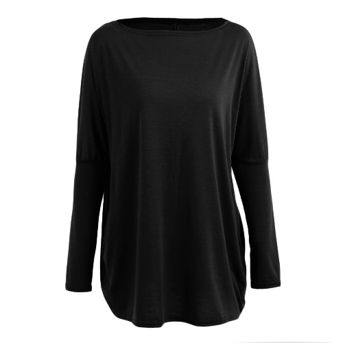 Autumn Women Loose Blouse Solid O-Neck Batwing Long Sleeves Casual Soft Top PulloverApparel &amp; Jewelry<br>Autumn Women Loose Blouse Solid O-Neck Batwing Long Sleeves Casual Soft Top Pullover<br>