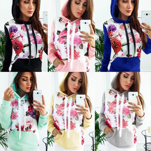 Autumn Winter Women Printed Hoodie Hooded Casual Sweatshirt Tracksuit Pocket Long Sleeve Pullover TopApparel &amp; Jewelry<br>Autumn Winter Women Printed Hoodie Hooded Casual Sweatshirt Tracksuit Pocket Long Sleeve Pullover Top<br>