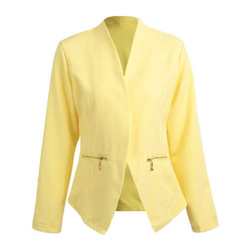Autumn Spring Business Suit Women Blazer Coat Outwear Long Sleeves High-Low Hem Elegant JacketApparel &amp; Jewelry<br>Autumn Spring Business Suit Women Blazer Coat Outwear Long Sleeves High-Low Hem Elegant Jacket<br>