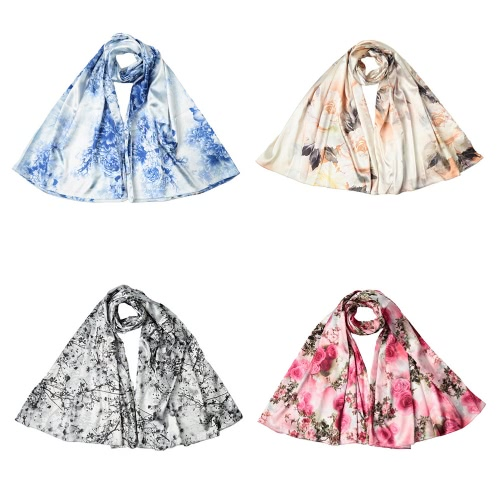 New Fashion Women Silk Scarf Special Pattern Print Long Shawl Elegant Vintage Soft CapeApparel &amp; Jewelry<br>New Fashion Women Silk Scarf Special Pattern Print Long Shawl Elegant Vintage Soft Cape<br>