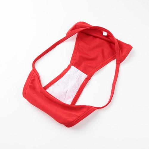 Sexy Women Bikini Set G-string Adjustable Shoulder Straps Low Waist Wireless Swimsuit Swimwear RedApparel &amp; Jewelry<br>Sexy Women Bikini Set G-string Adjustable Shoulder Straps Low Waist Wireless Swimsuit Swimwear Red<br>