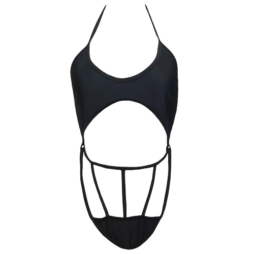 New Women One Piece Swimsuit Swimwear Halter Cut Out Strap Bathing Suit Beachwear Backless MonokiniApparel &amp; Jewelry<br>New Women One Piece Swimsuit Swimwear Halter Cut Out Strap Bathing Suit Beachwear Backless Monokini<br>