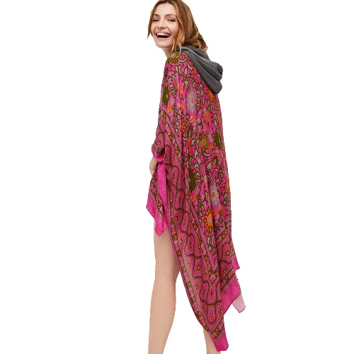 Vintage Women Chiffon Kimono Cardigan Ethnic Boho Print Loose Long Outerwear Beachwear Bikini Cover Up Rose/Blue/CoffeeApparel &amp; Jewelry<br>Vintage Women Chiffon Kimono Cardigan Ethnic Boho Print Loose Long Outerwear Beachwear Bikini Cover Up Rose/Blue/Coffee<br>