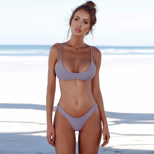 New Sexy Women Bikini Set Swimsuit Push Up Padded Bra High Cut Bottoms Swimwear Bathing SuitsApparel &amp; Jewelry<br>New Sexy Women Bikini Set Swimsuit Push Up Padded Bra High Cut Bottoms Swimwear Bathing Suits<br>