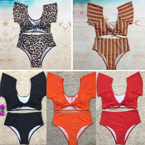 Sexy Women Bikini Set Swimsuit Push Up Swimwear Solid&amp;Leopard&amp;Stripe Bandage Beach Wear Bathing SuitApparel &amp; Jewelry<br>Sexy Women Bikini Set Swimsuit Push Up Swimwear Solid&amp;Leopard&amp;Stripe Bandage Beach Wear Bathing Suit<br>