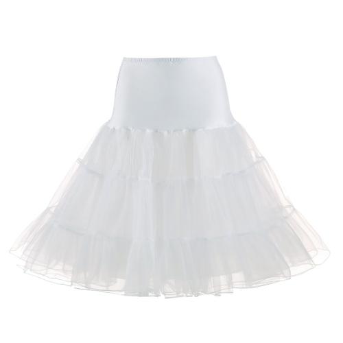 Vintage Women Petticoat Skirt Crinoline Tutu Underskirt Elastic Waist A-Line Party Midi SkirtApparel &amp; Jewelry<br>Vintage Women Petticoat Skirt Crinoline Tutu Underskirt Elastic Waist A-Line Party Midi Skirt<br>