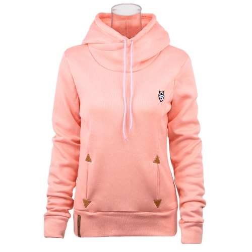 New Fashion Women Hoodie Sweatshirts Self-tie Pockets Pullover Hooded Loose TopsApparel &amp; Jewelry<br>New Fashion Women Hoodie Sweatshirts Self-tie Pockets Pullover Hooded Loose Tops<br>