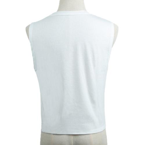 New Fashion Women Tank Top Seashells Print O-Neck Sleeveless Casual Vest T-Shirt WhiteApparel &amp; Jewelry<br>New Fashion Women Tank Top Seashells Print O-Neck Sleeveless Casual Vest T-Shirt White<br>