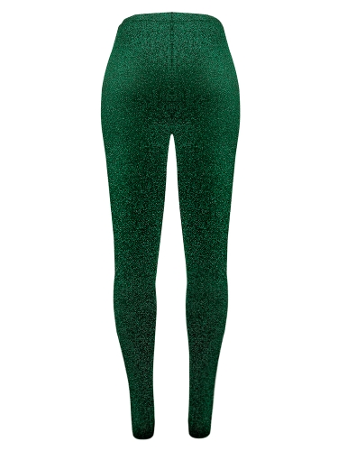 Fashion Women Long Pants Metallic Sequined Elastic Waist Bandage Casual Slim TrousersApparel &amp; Jewelry<br>Fashion Women Long Pants Metallic Sequined Elastic Waist Bandage Casual Slim Trousers<br>